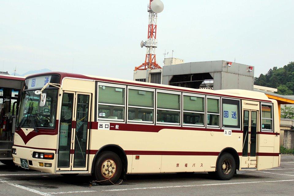 京福バス か1574
