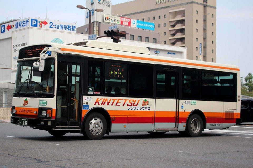 名阪近鉄バス か1037