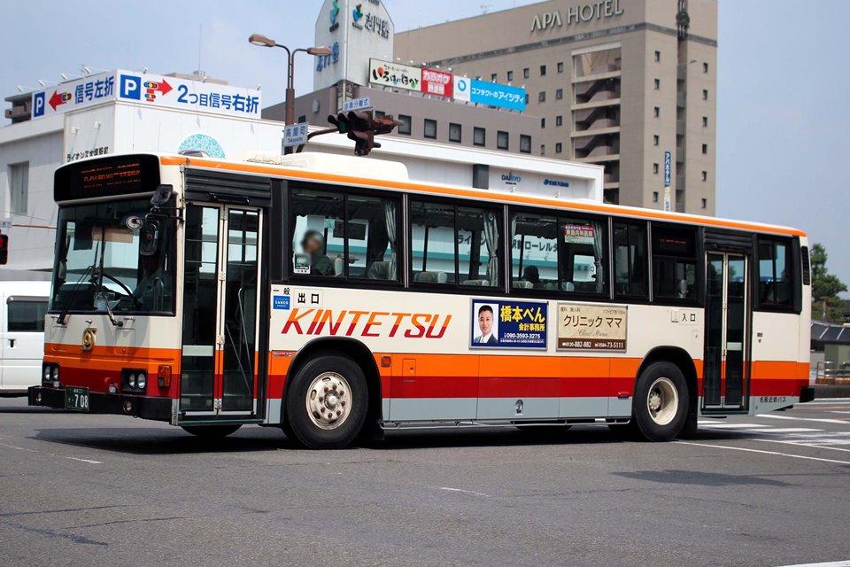 名阪近鉄バス き708