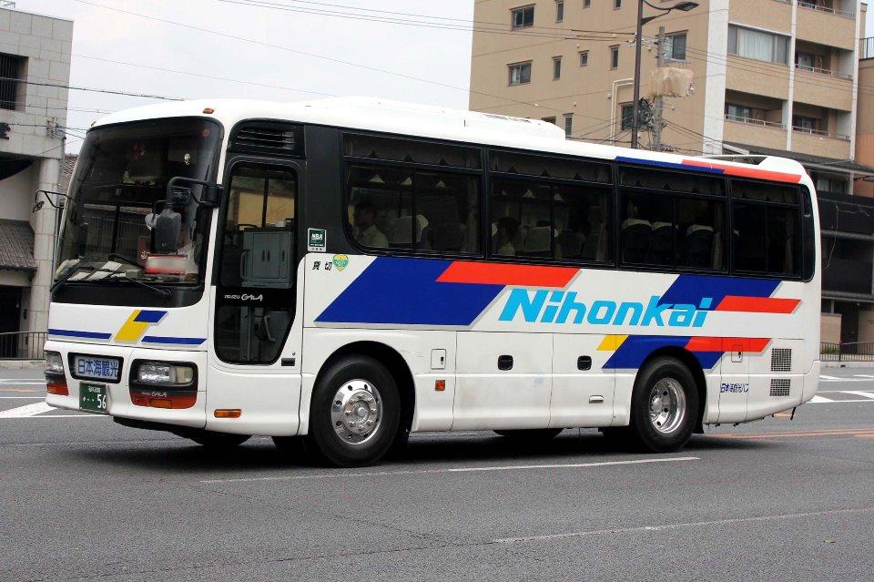 日本海観光バス か56