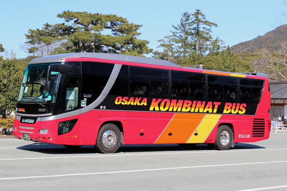 大阪コンビナートバス か952