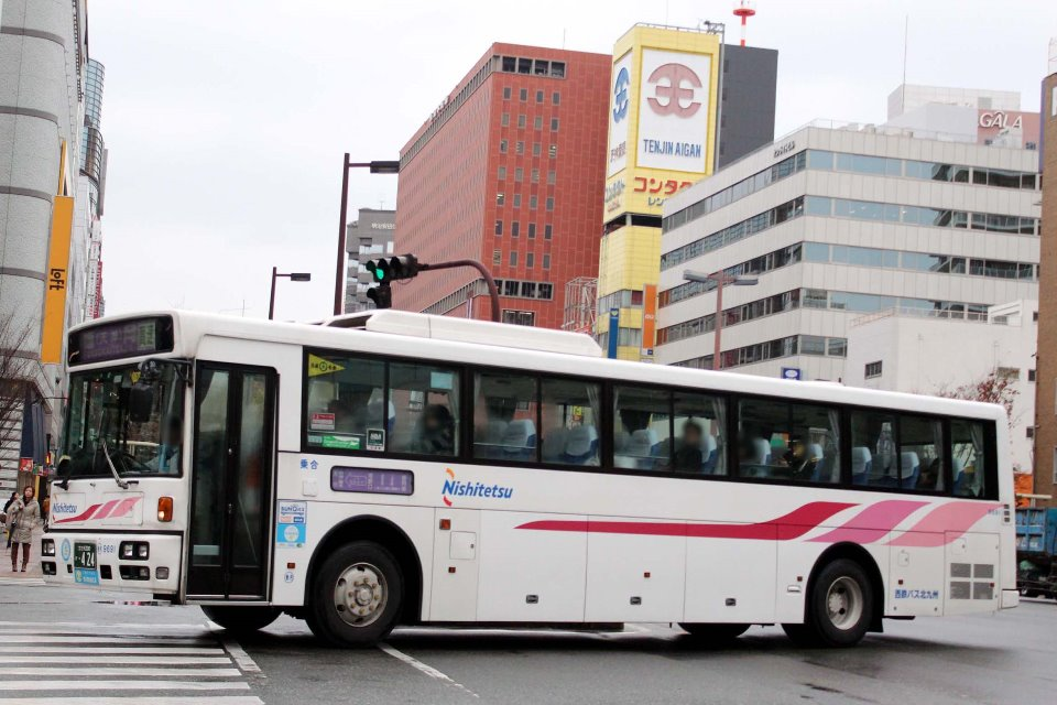 西鉄バス北九州 9691