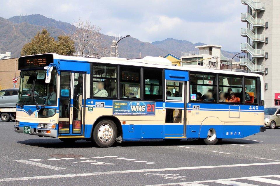 阪神バス 449