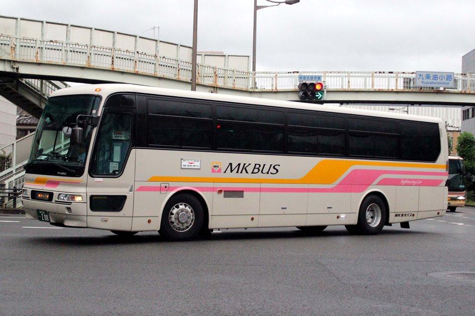 MK観光バス い208