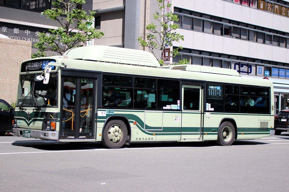 京都市交通局 か1800