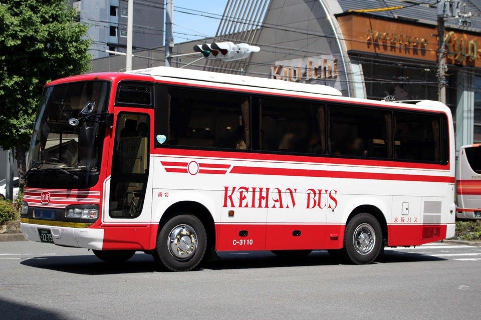 京阪バス C-3110