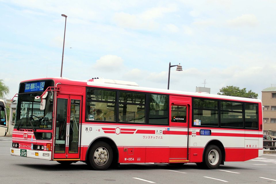 京阪バス W-1954