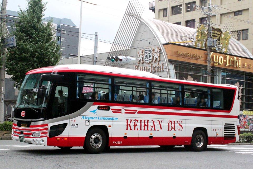 京阪バス H-3258