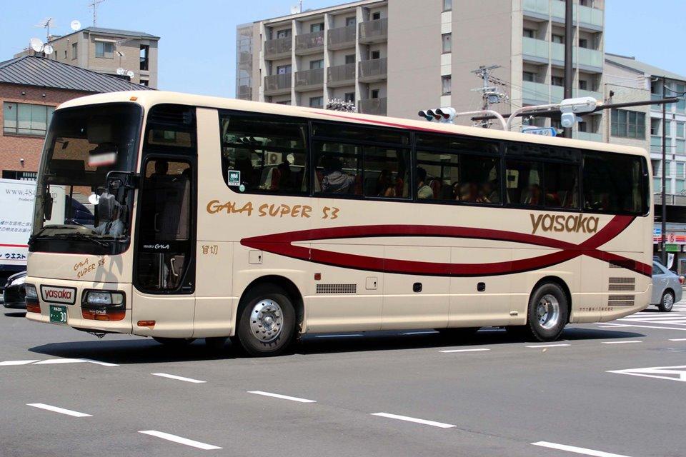 ヤサカ観光バス か30