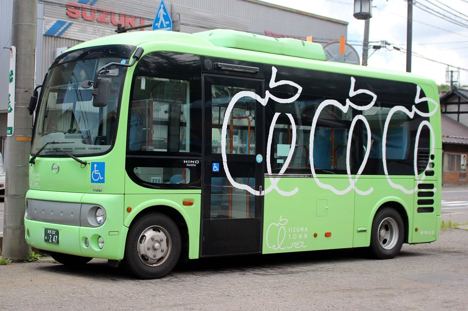 長電バス あ247