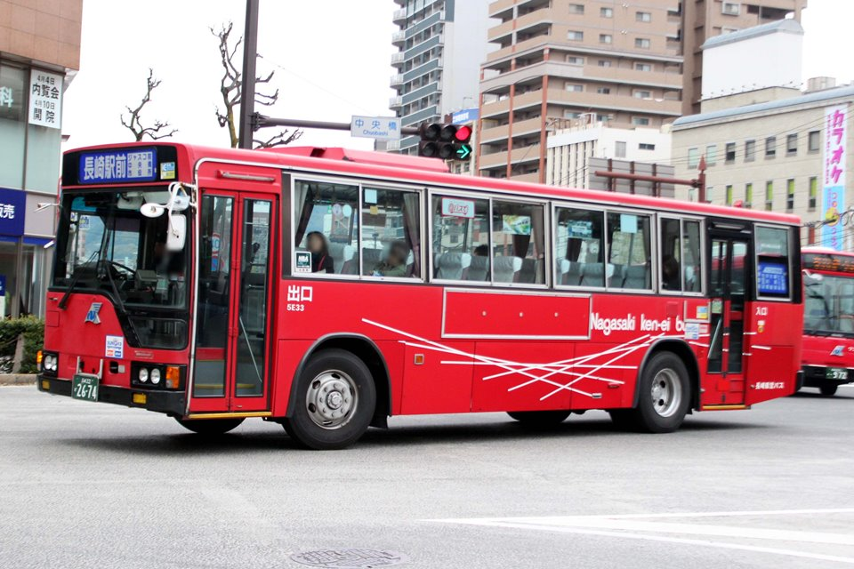 長崎県営バス 5E33