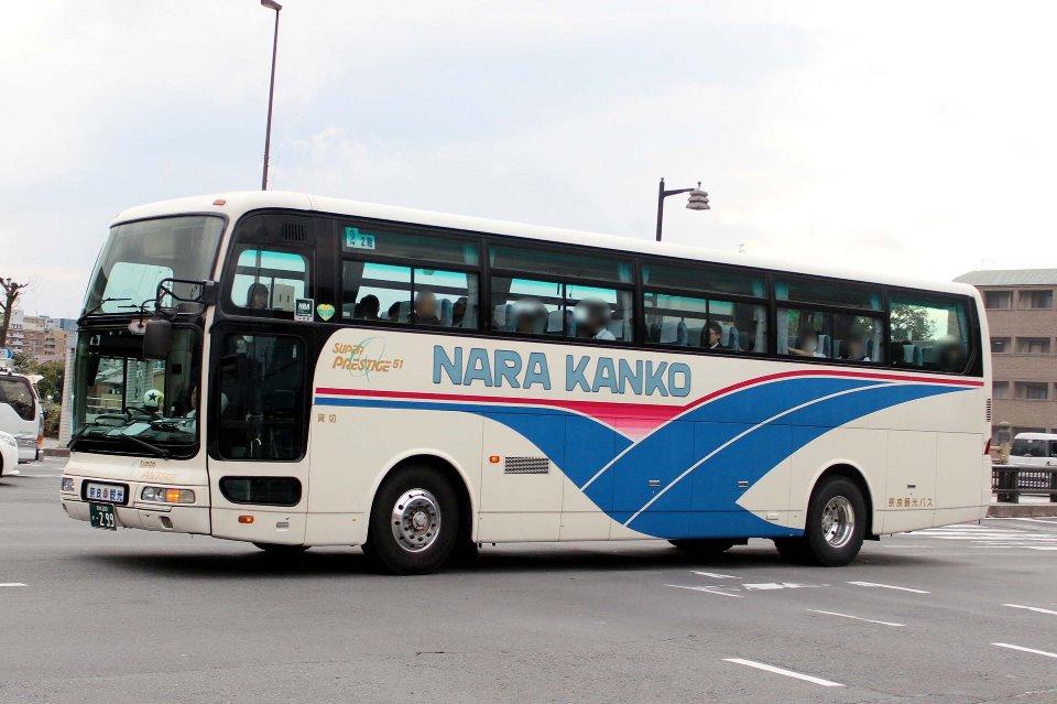 奈良観光バス か299