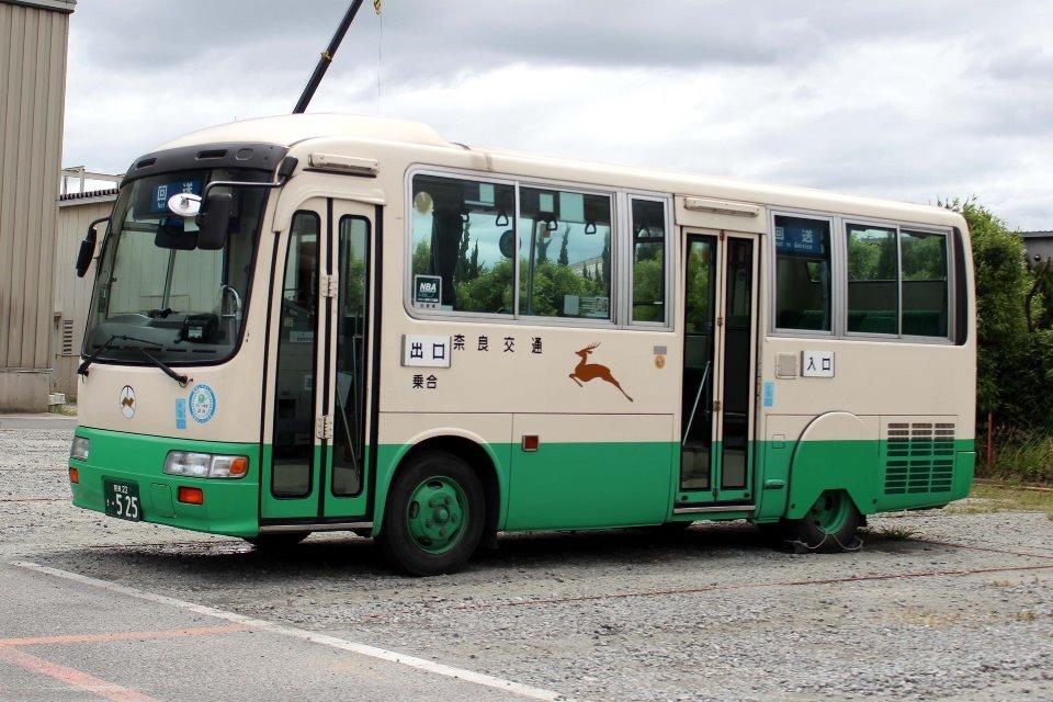 奈良交通 き525