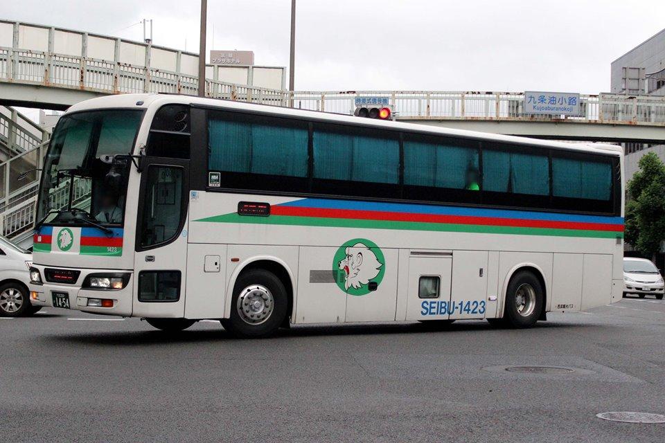 西武観光バス 1423