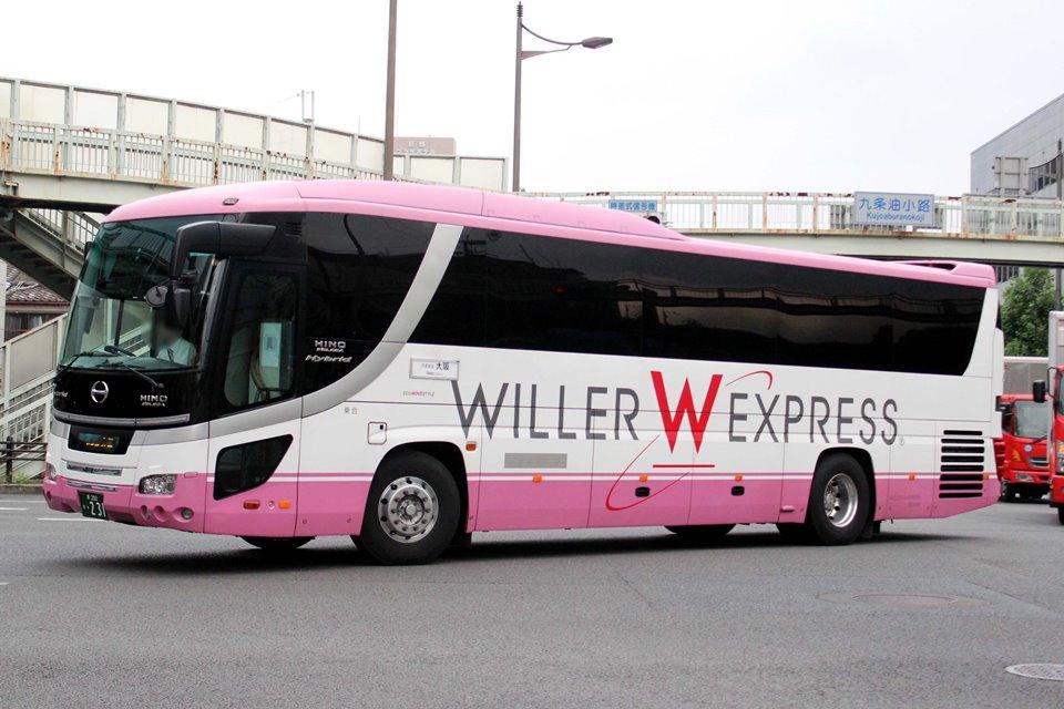 WILLER EXPRESS西日本 か231