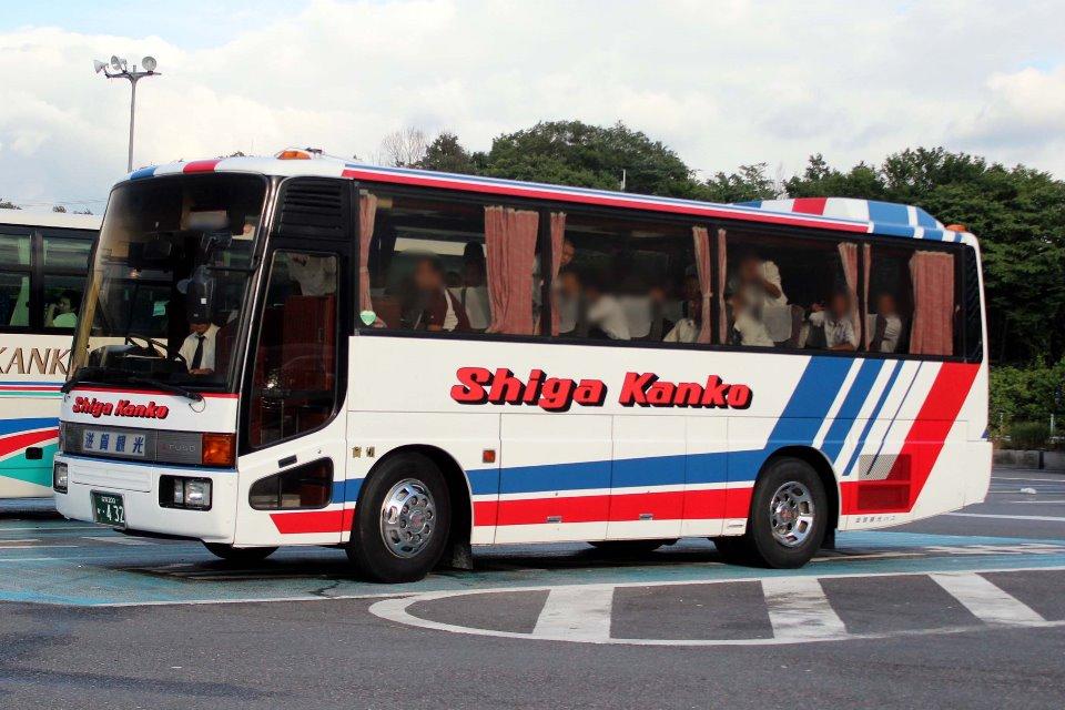 滋賀観光バス か432