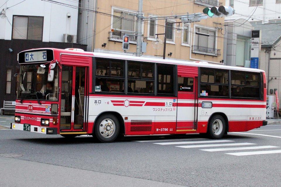 京阪バス W-3796