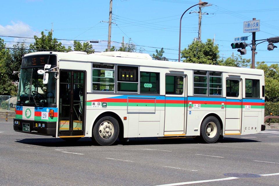 近江鉄道 か672