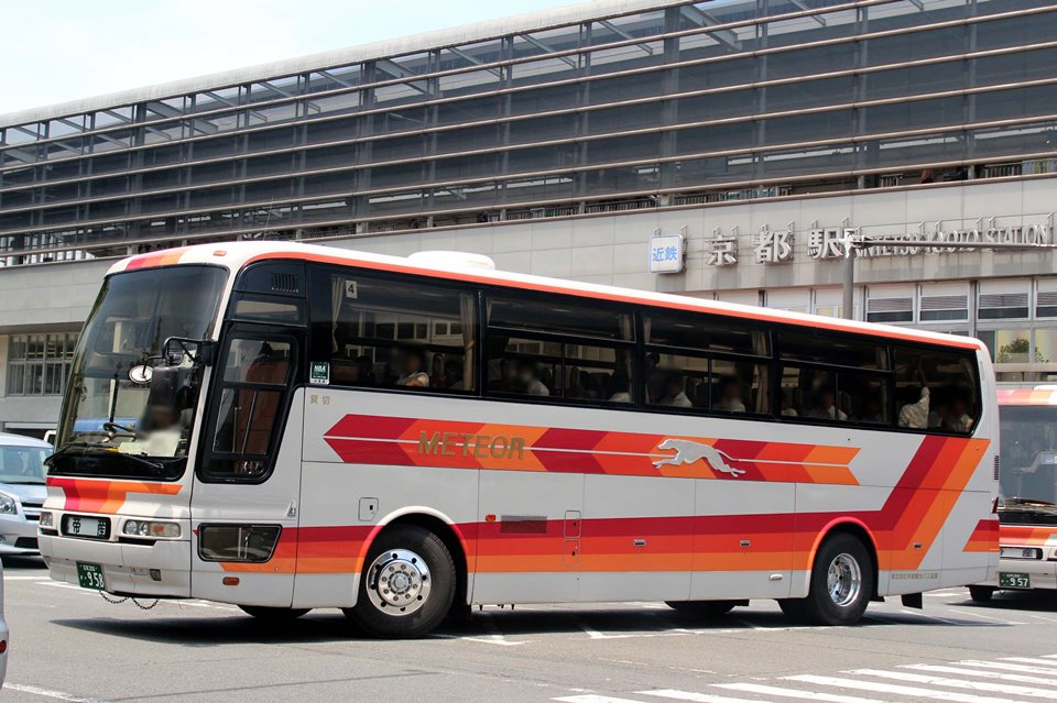 帝産観光バス滋賀 か958