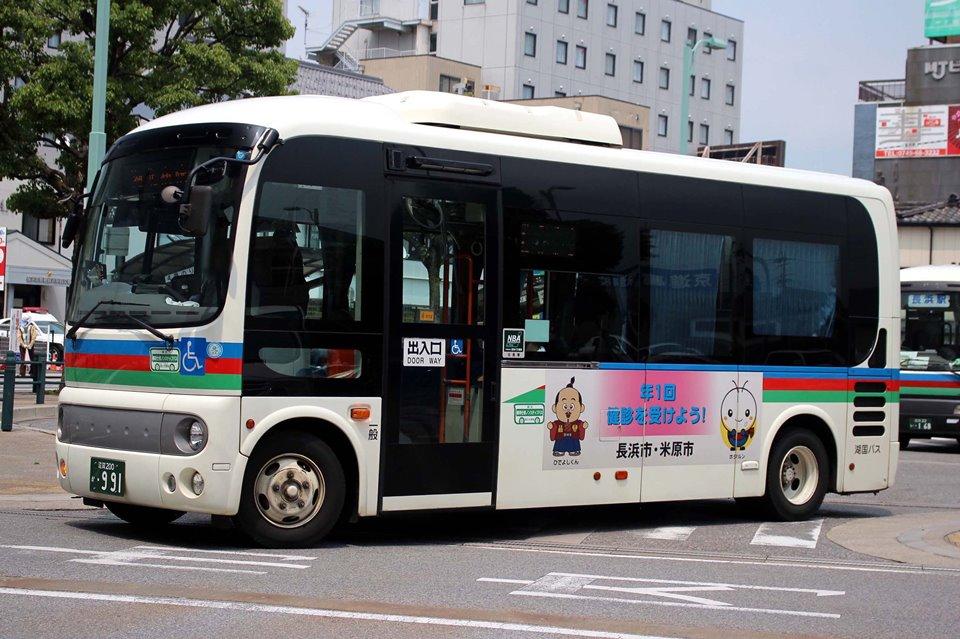 湖国バス か991