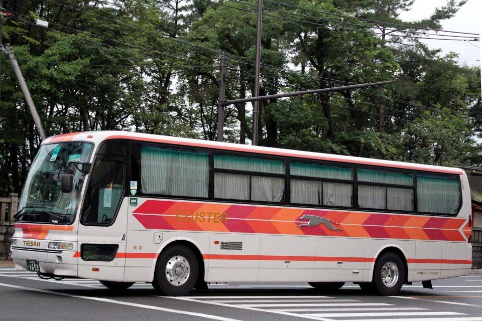 帝産観光バス あ1653