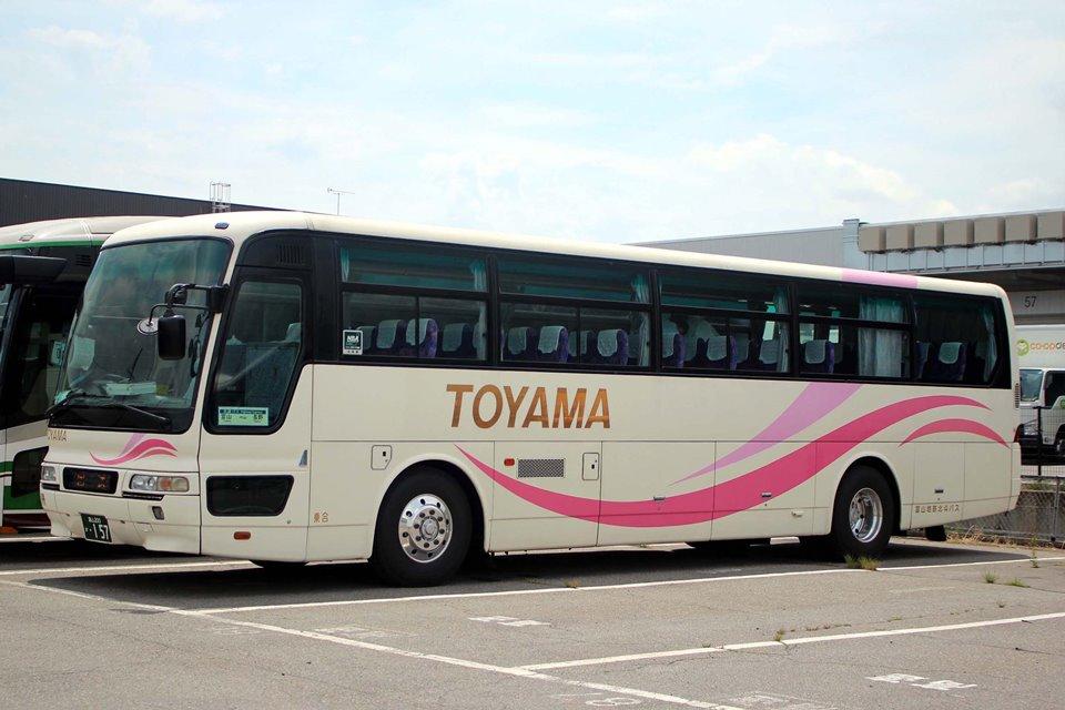 富山地鉄北斗バス か157