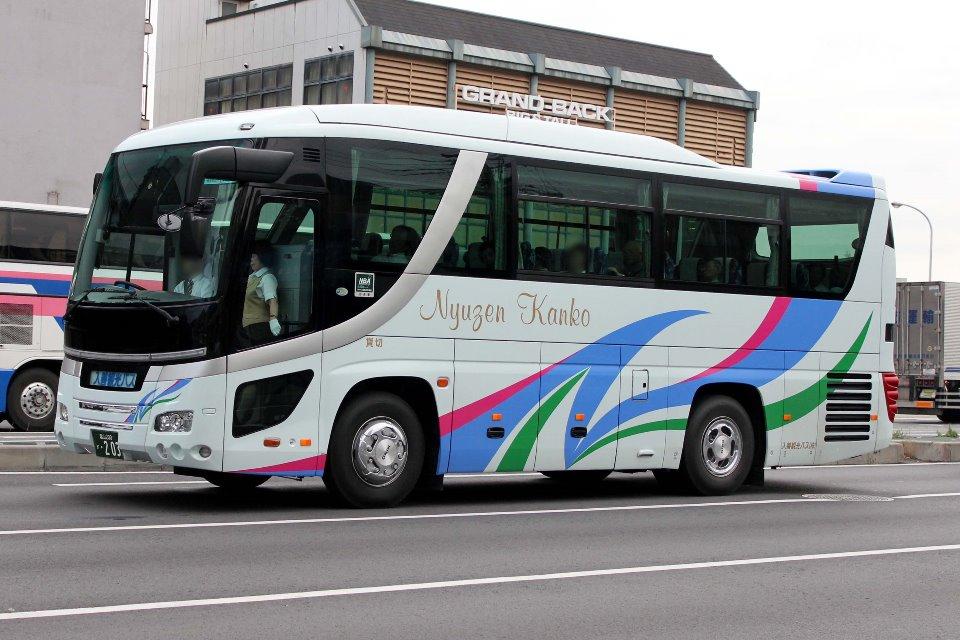 入善観光バス か203