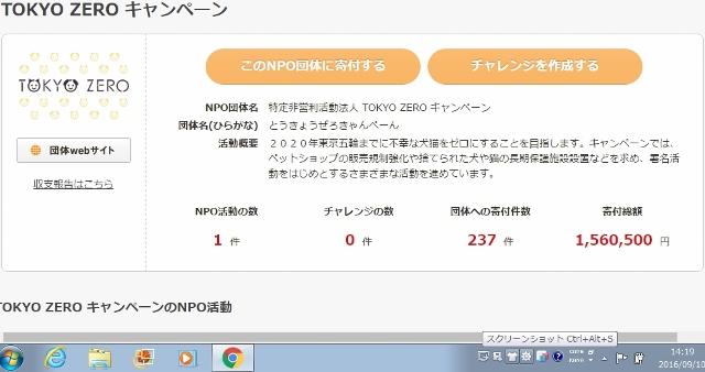 TOKYOZEROキャンペーン 寄付集め (640x338)