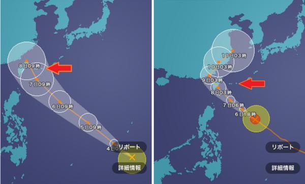 20160707000_台風の進路