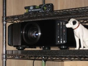 DLA-X75Rとビクターの犬