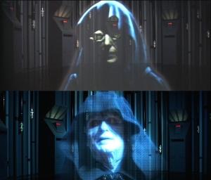 帝国の逆襲 皇帝・新旧