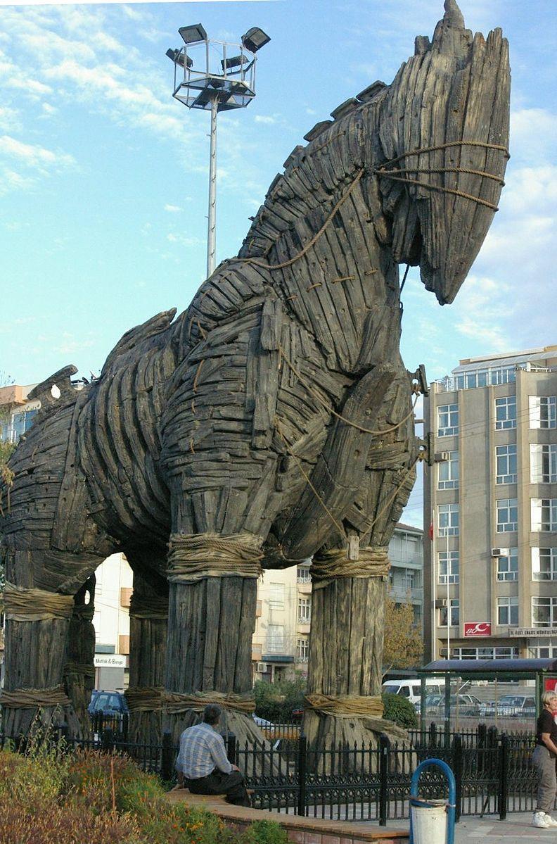 bx Trojan_horse_Çanakkale