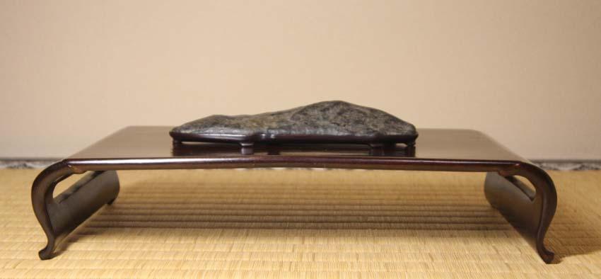 2016 水石飾り 長崎カムイコタン石と酷似3