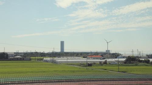 車窓風力発電