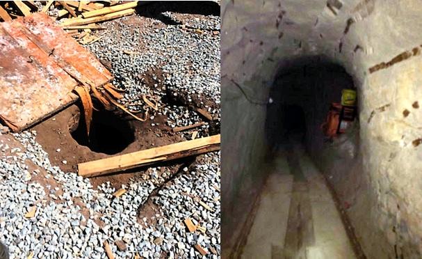 メキシコからのトンネル