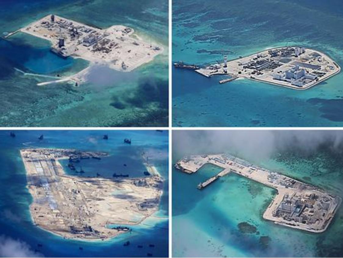 中国による人工島