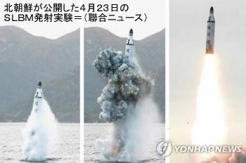 北朝鮮ミサイルSLBM