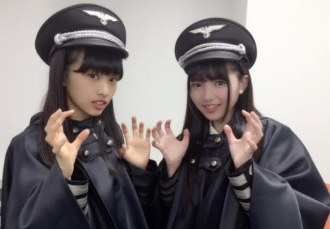欅坂46の黒い衣装