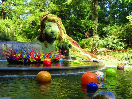 Dale Chihulyの世界/Atlanta Botanical Garden-8, 2016-7-12