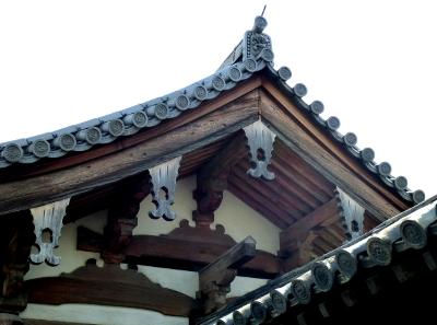 慶賀門の懸魚