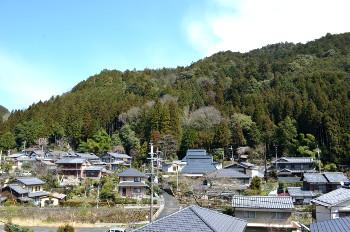 二ノ瀬の集落