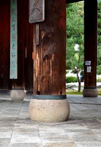 萬福寺三門礎盤