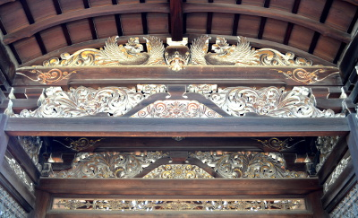 仁和寺勅使門の蟇股等