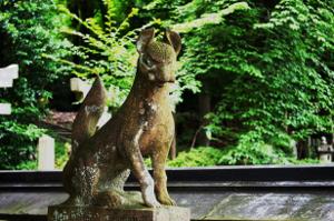竹中稲荷の狐