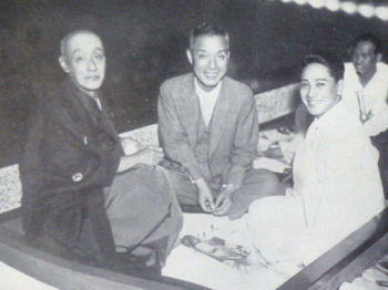 鴈治郎と白井松次郎