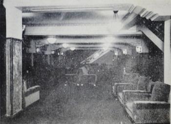 南座の休憩室