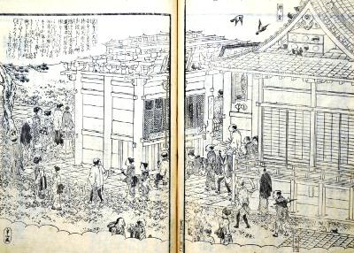 花洛名勝図会(頂妙寺)