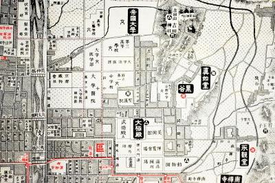 本願寺遠忌記念地図