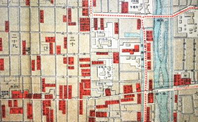 京都市街全図