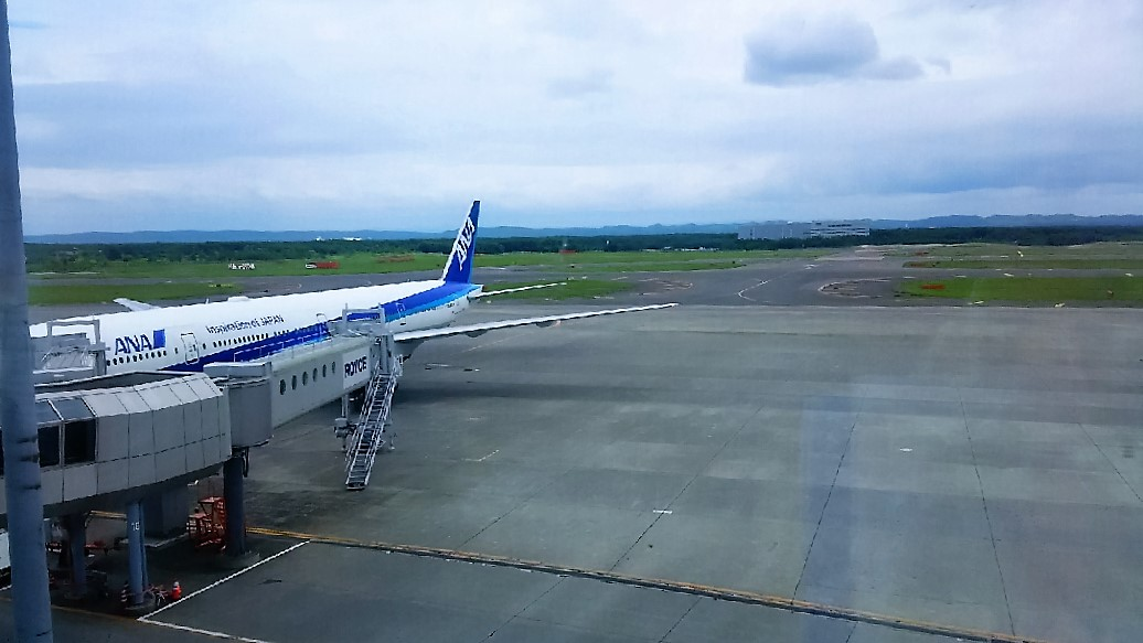 北海道旅行 飛行機